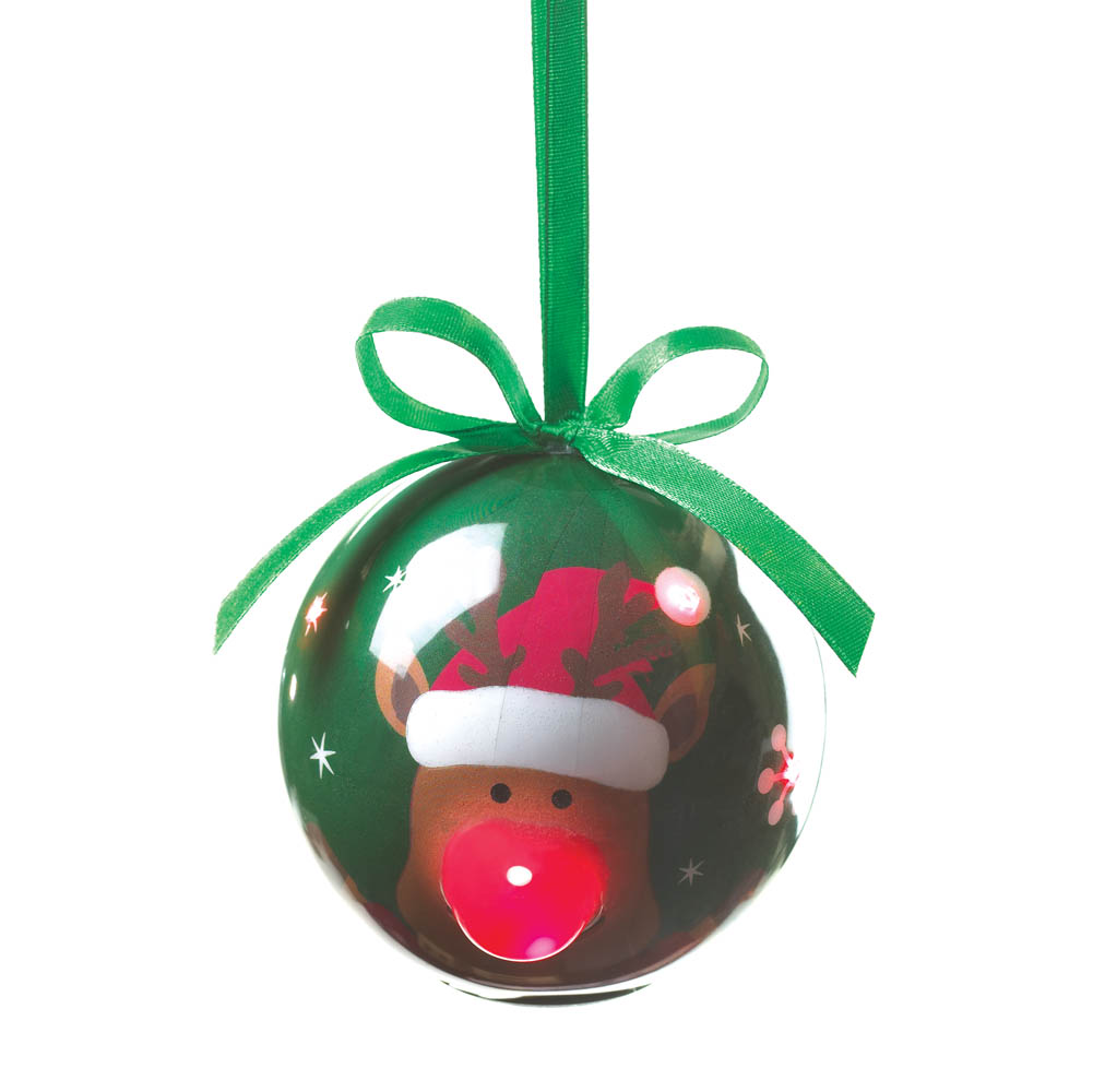 Wholesale Light-Up Reindeer Ornament for sale at  bulk cheap prices!