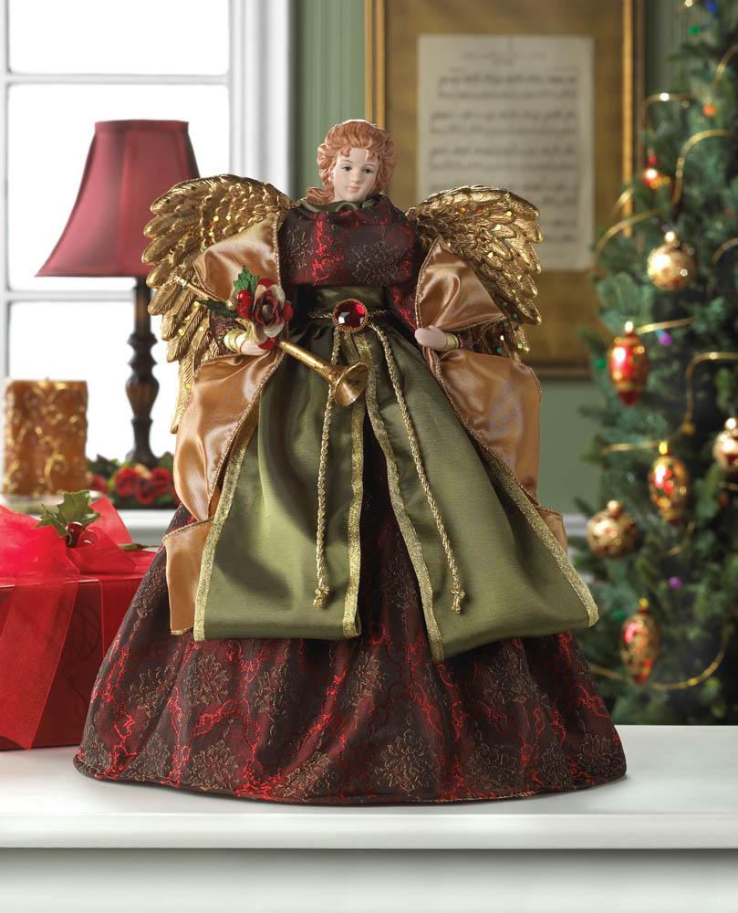 CHRISTMAS Angel Doll & Tree Topper