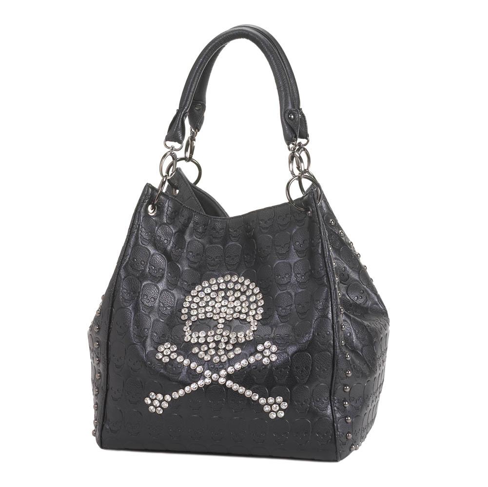 Tote bag in bulk - Wholesale Rockin Skull Tote Bag For Sale At Bulk Cheap Prices