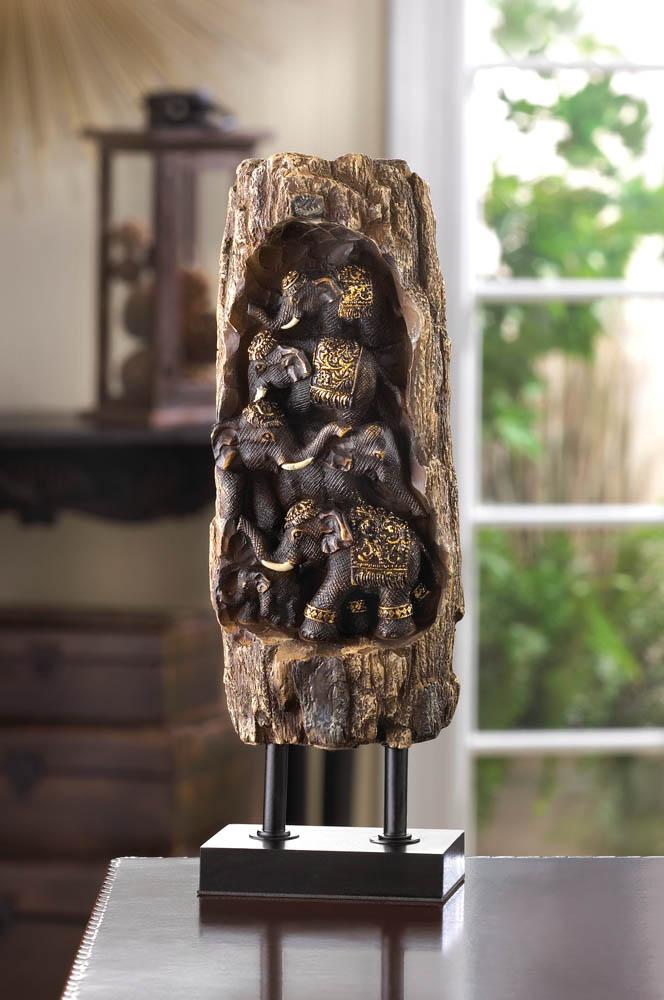 Wholesale carved elephant totem decor buy