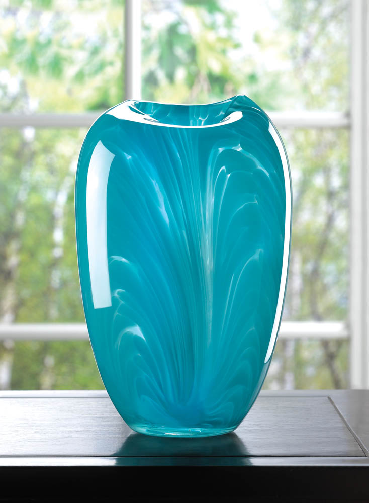 Wholesale Turquoise Modern Glass Vase Buy Wholesale Vases