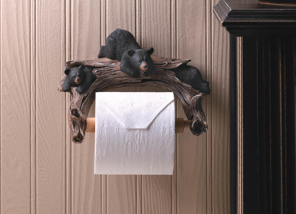 Wholesale bear toilet paper holder for sale at bulk cheap prices