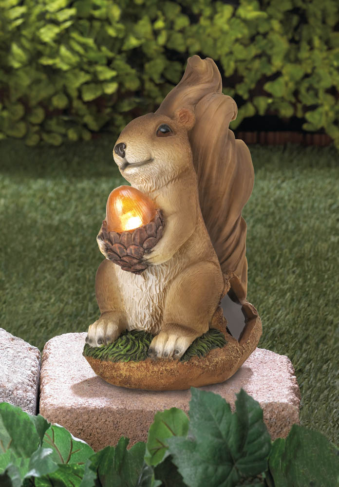 Wholesale Squirrel Solar Statue For Sale At Bulk Cheap Prices!