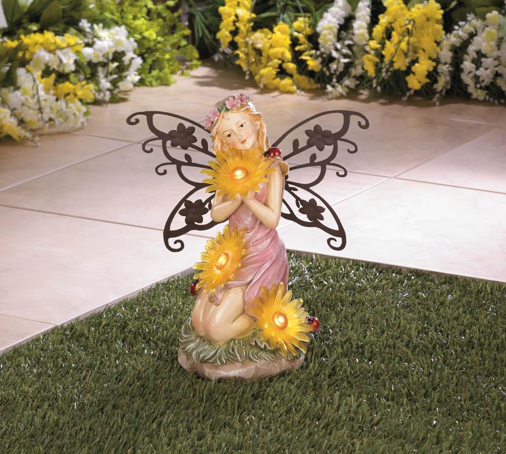 Wholesale Garden Fairy Solar Statue - Buy Wholesale Garden Statues