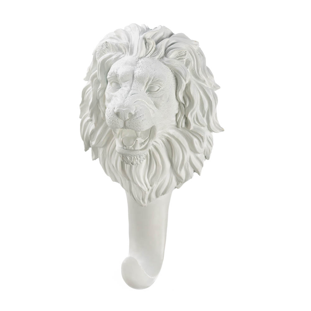 Wholesale White Lion Wall Hook Buy Wholesale Wall Decor