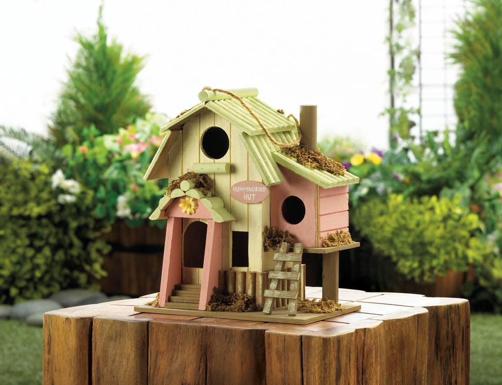 Wholesale Hummingbird Hut Birdhouse for sale at bulk cheap prices!
