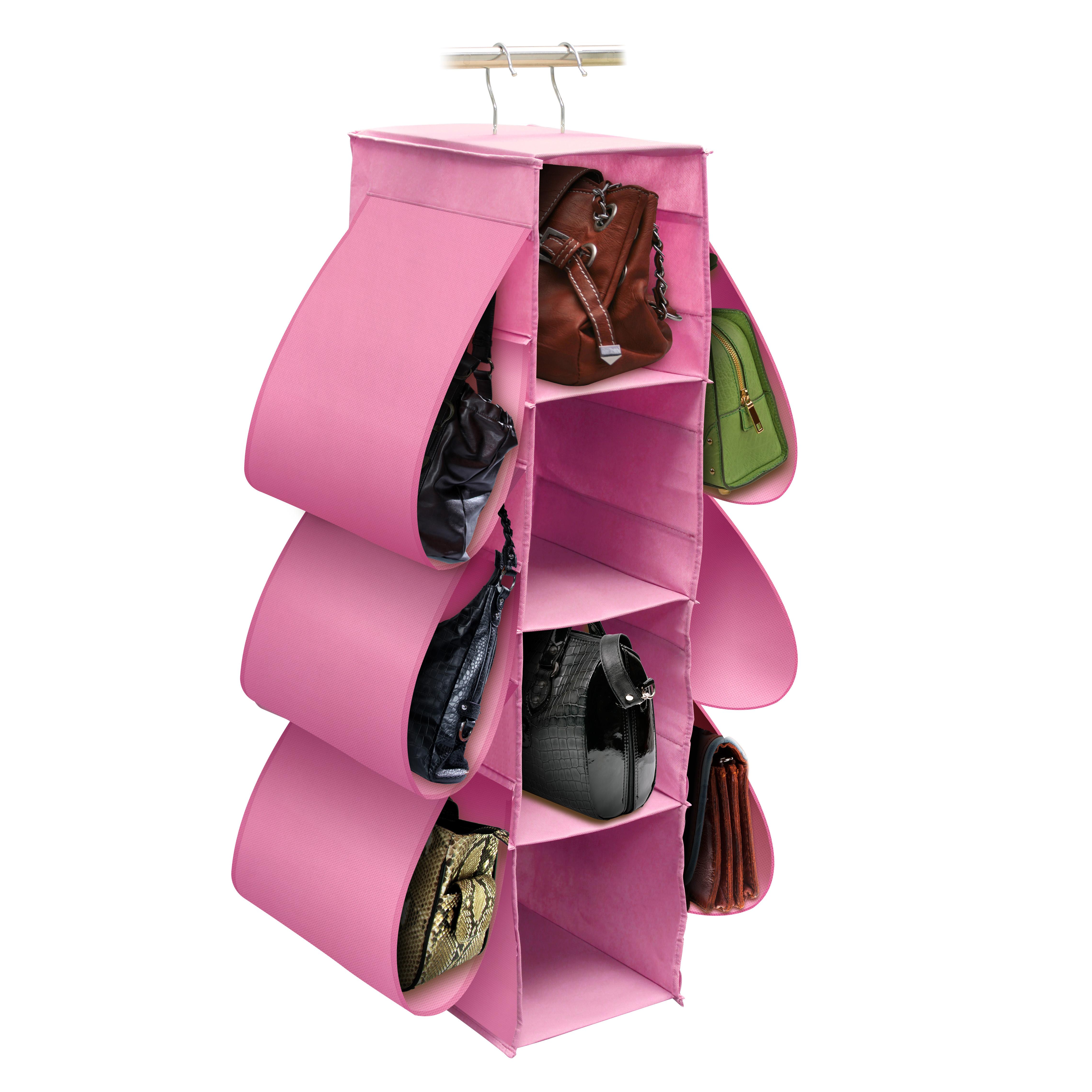 Pink Handbag Organizer
