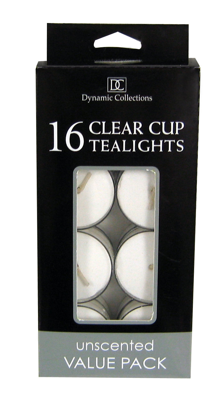 Wholesale White Clear Cup Tealights for sale at  bulk cheap prices!
