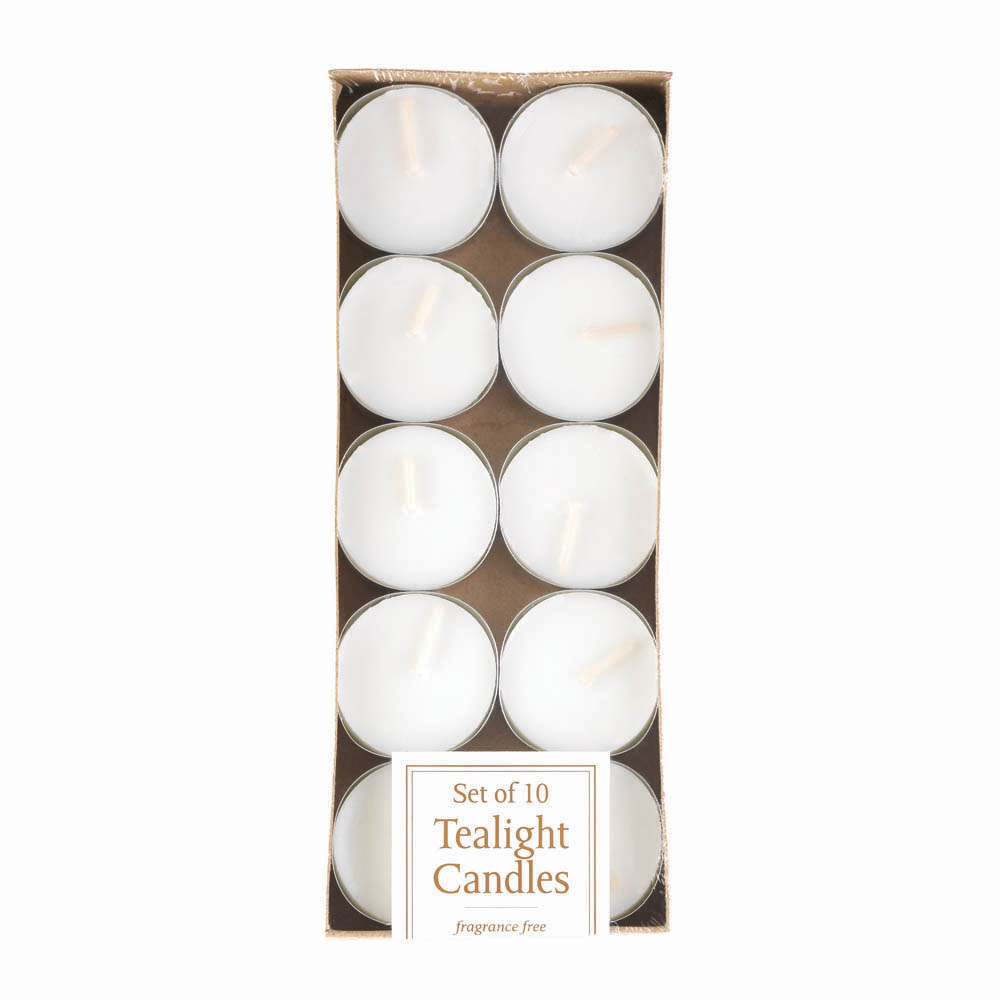 wholesale white tealight candles pack of 10 buy wholesale candles. Black Bedroom Furniture Sets. Home Design Ideas