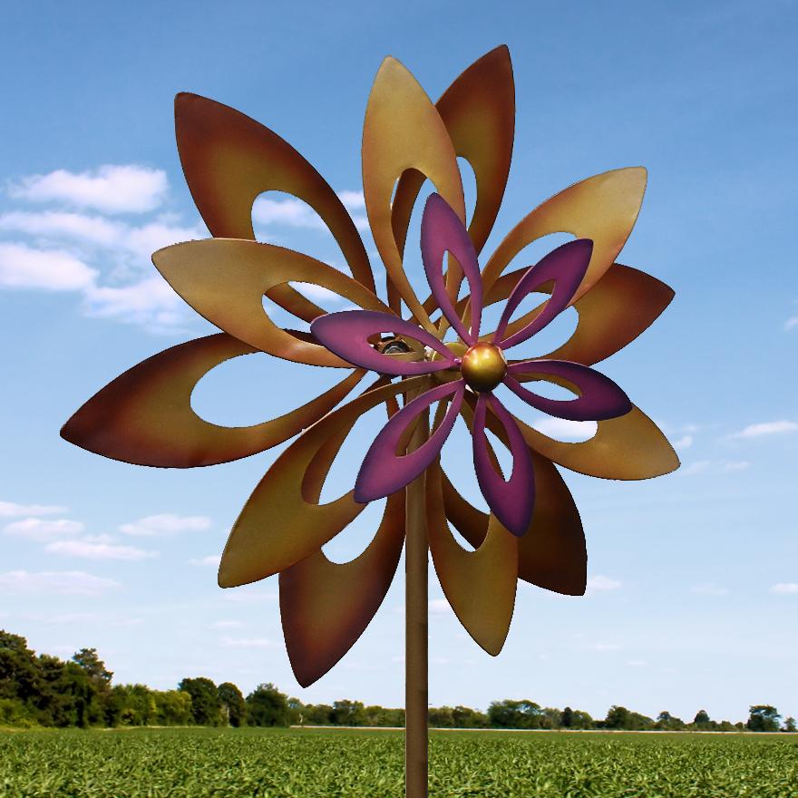 Wholesale Dancing Sunflower Windmill - Buy Wholesale Garden Accessories