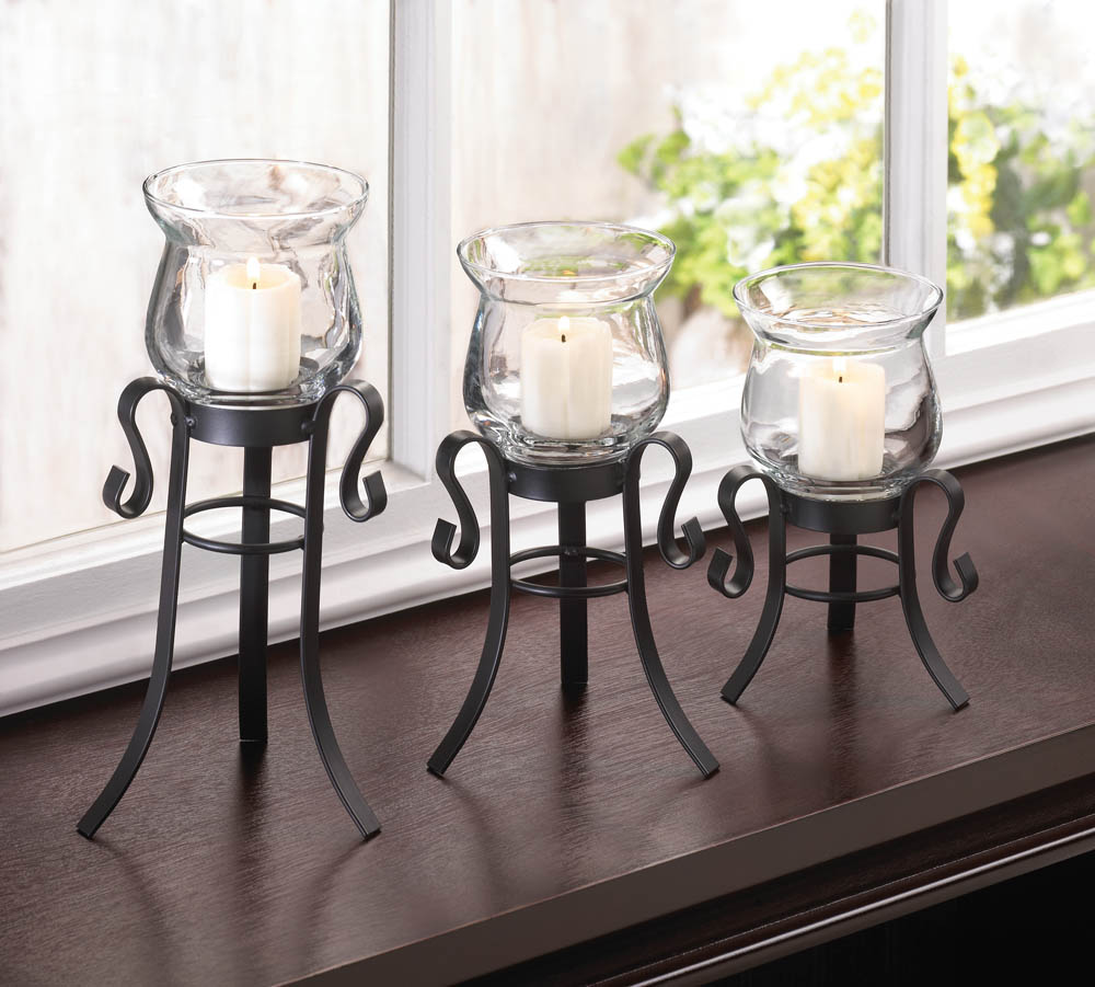 wholesale allure candle stand trio for sale at bulk cheap prices
