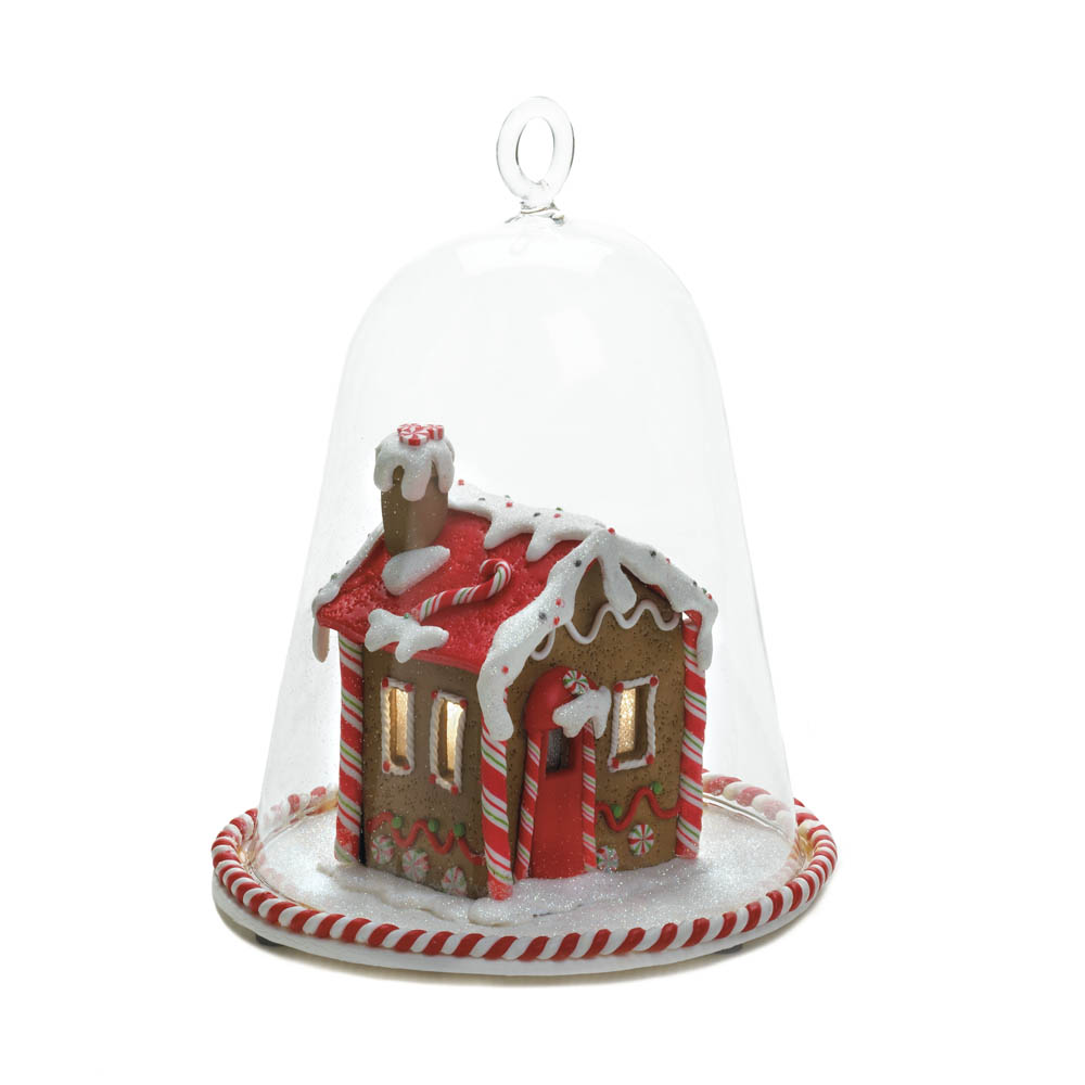 Wholesale gingerbread house bell jar buy wholesale for Purchase christmas decorations
