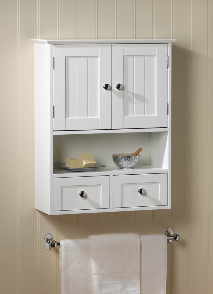 Wholesale nantucket wall cabinet buy wholesale cabinets chests curios for Cheap bathroom storage cabinets