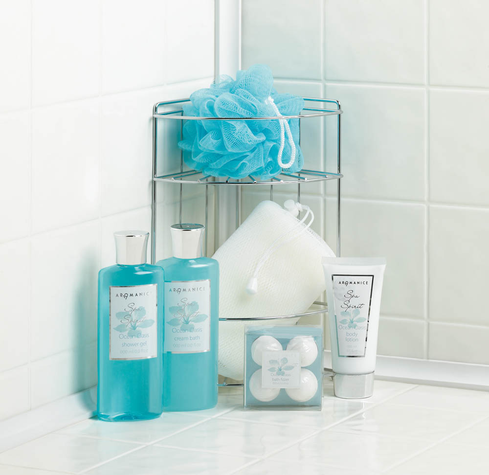 Wholesale Ocean Oasis Bath Caddy Spa Set - Buy Wholesale Bath Sets
