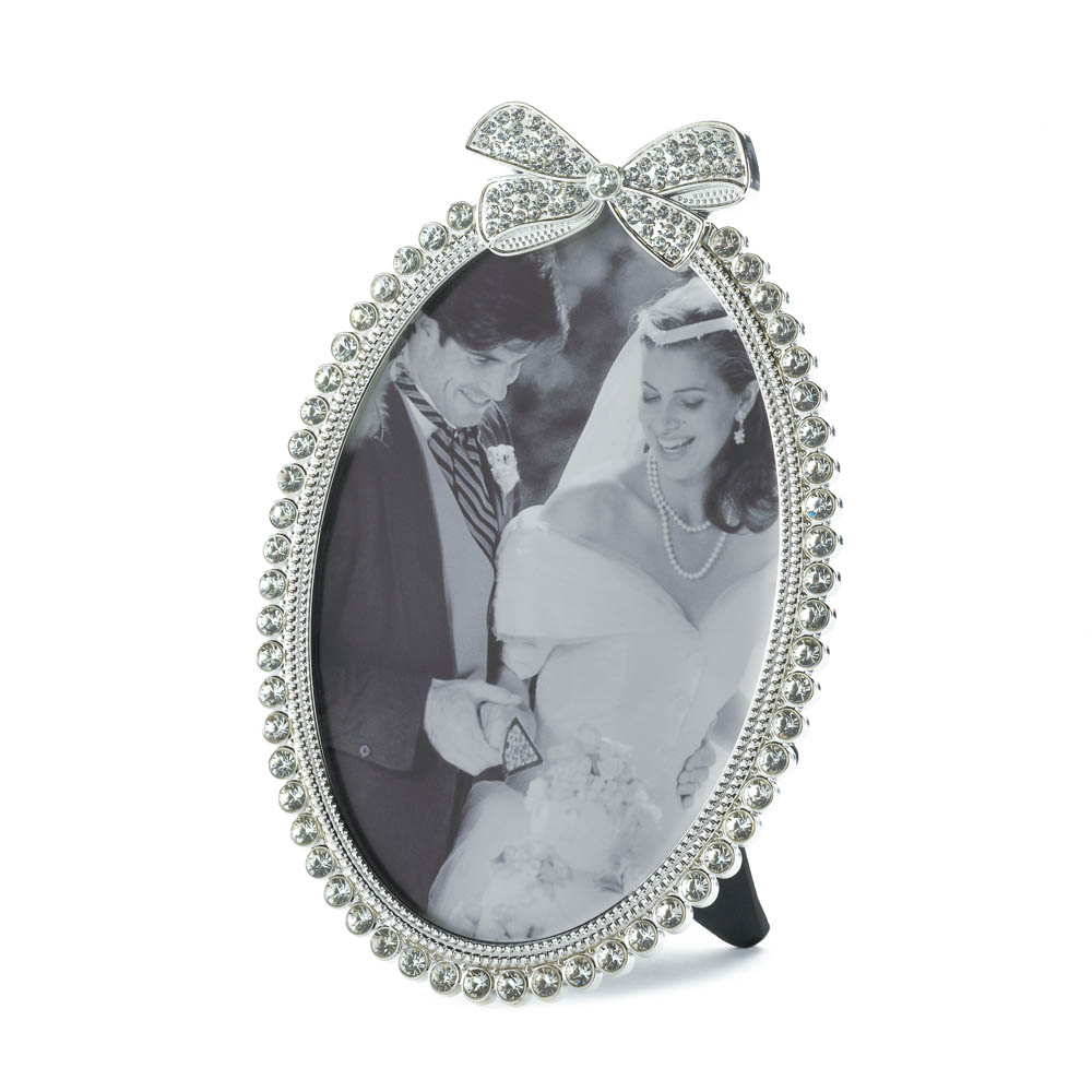 Wholesale 5x7 beautiful bow photo frame buy wholesale Cheap a frames