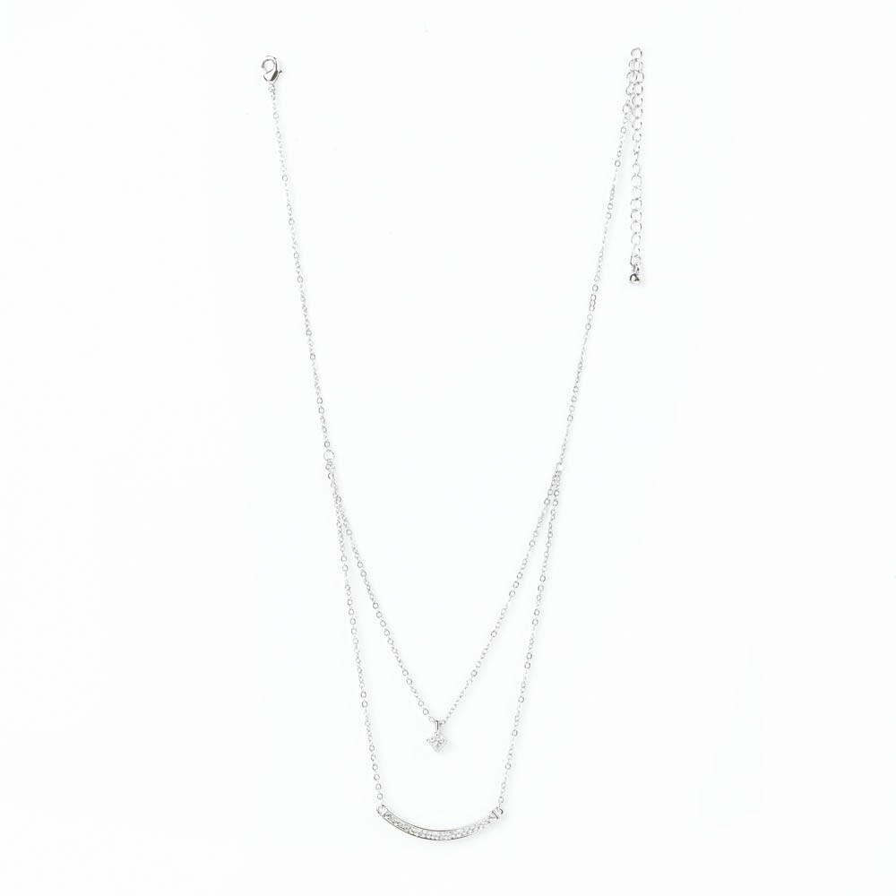 Starshine Double Chain Necklace