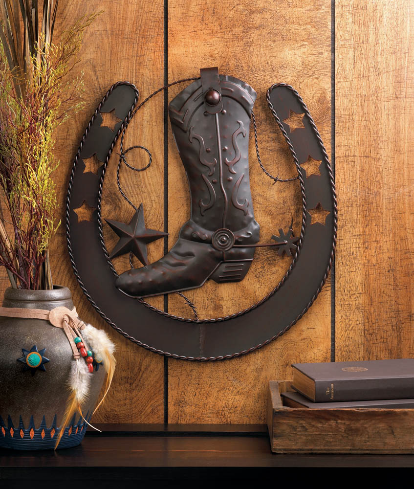 Wholesale cowboy horseshoe wall decor buy wholesale wall for Decor international wholesale