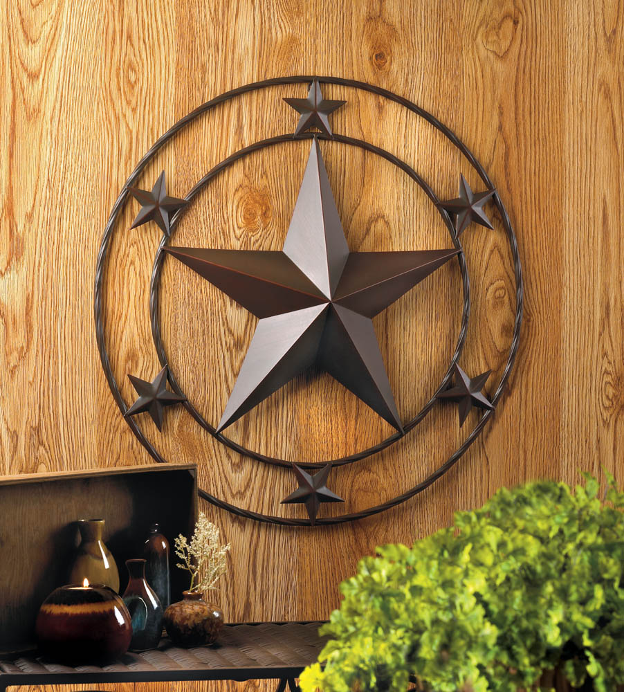 Wholesale Western Star Wall Decor