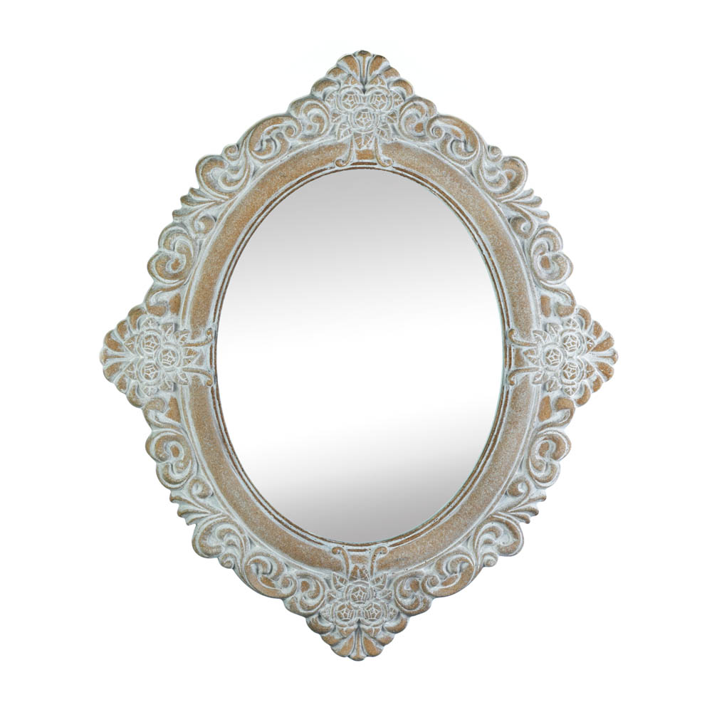 Wholesale Vintage Amelia Taupe Mirror - Buy Wholesale Linens