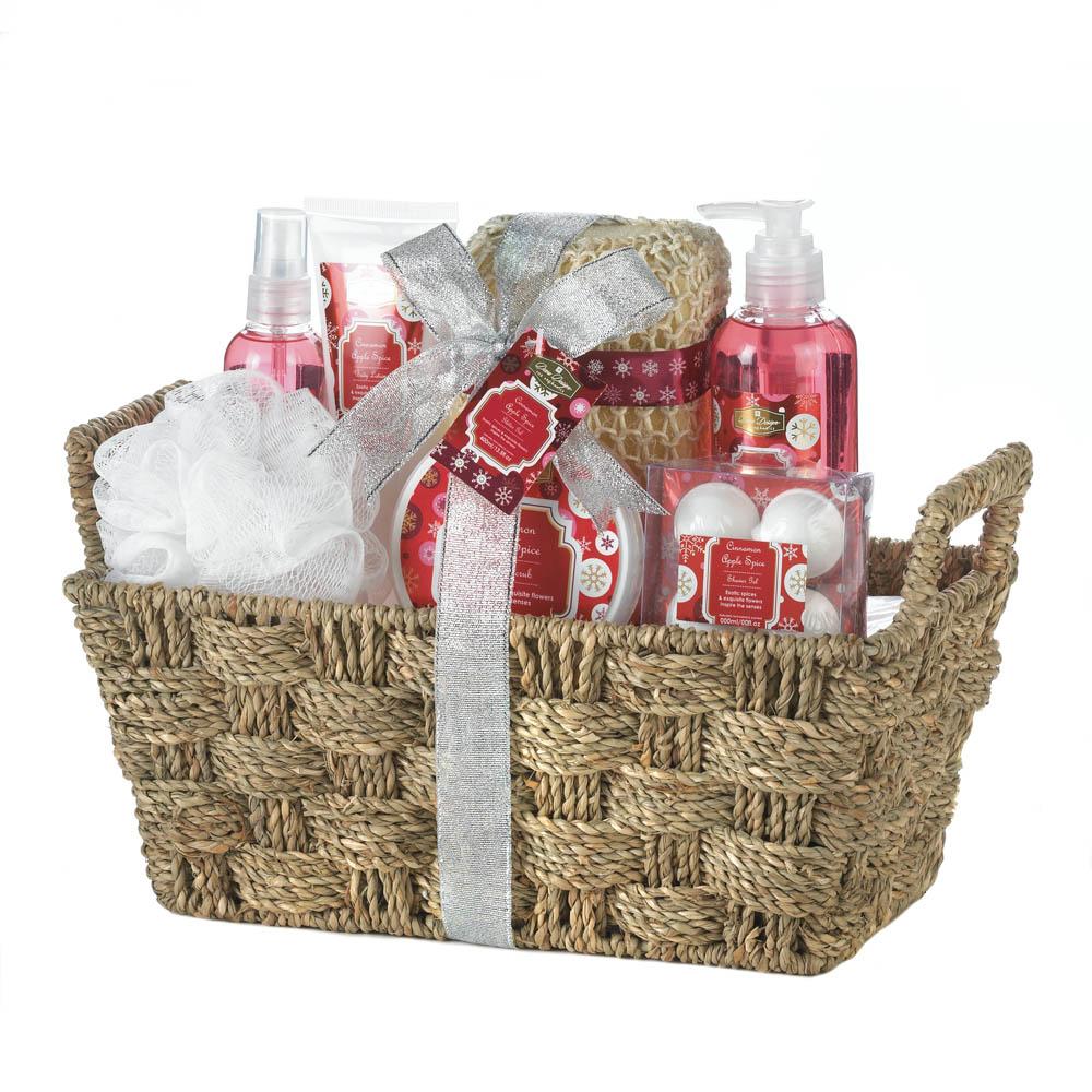 Wholesale Apple Spice Spa Set - Buy Wholesale Bath Sets