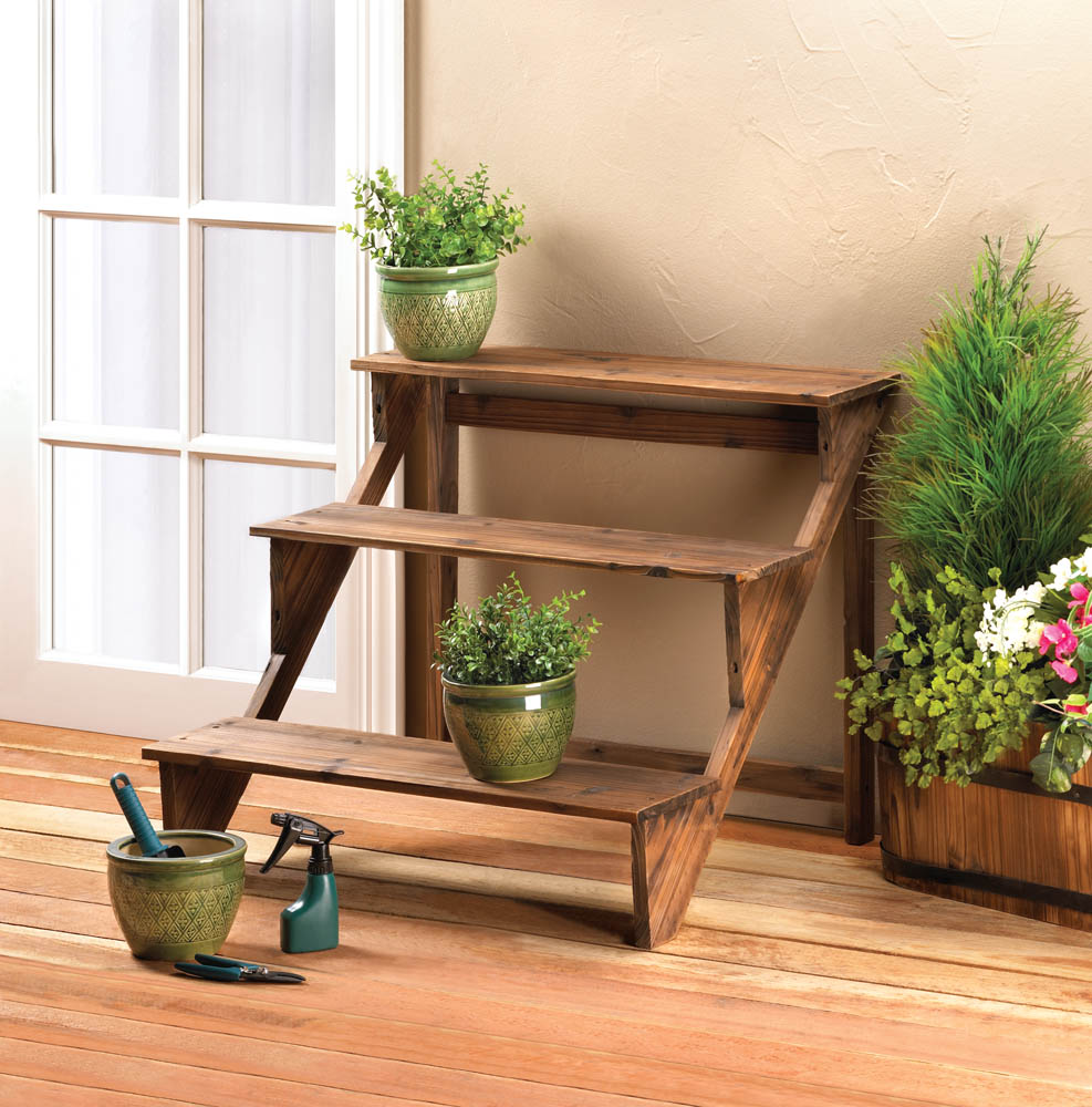 Wholesale Wooden Steps Plant Stand Buy Wholesale Plant Stands