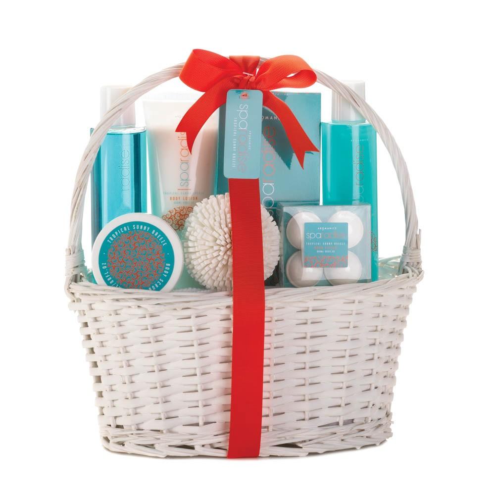 Wholesale Tropical Sunny Breeze Spa Basket - Buy Wholesale Bath Sets