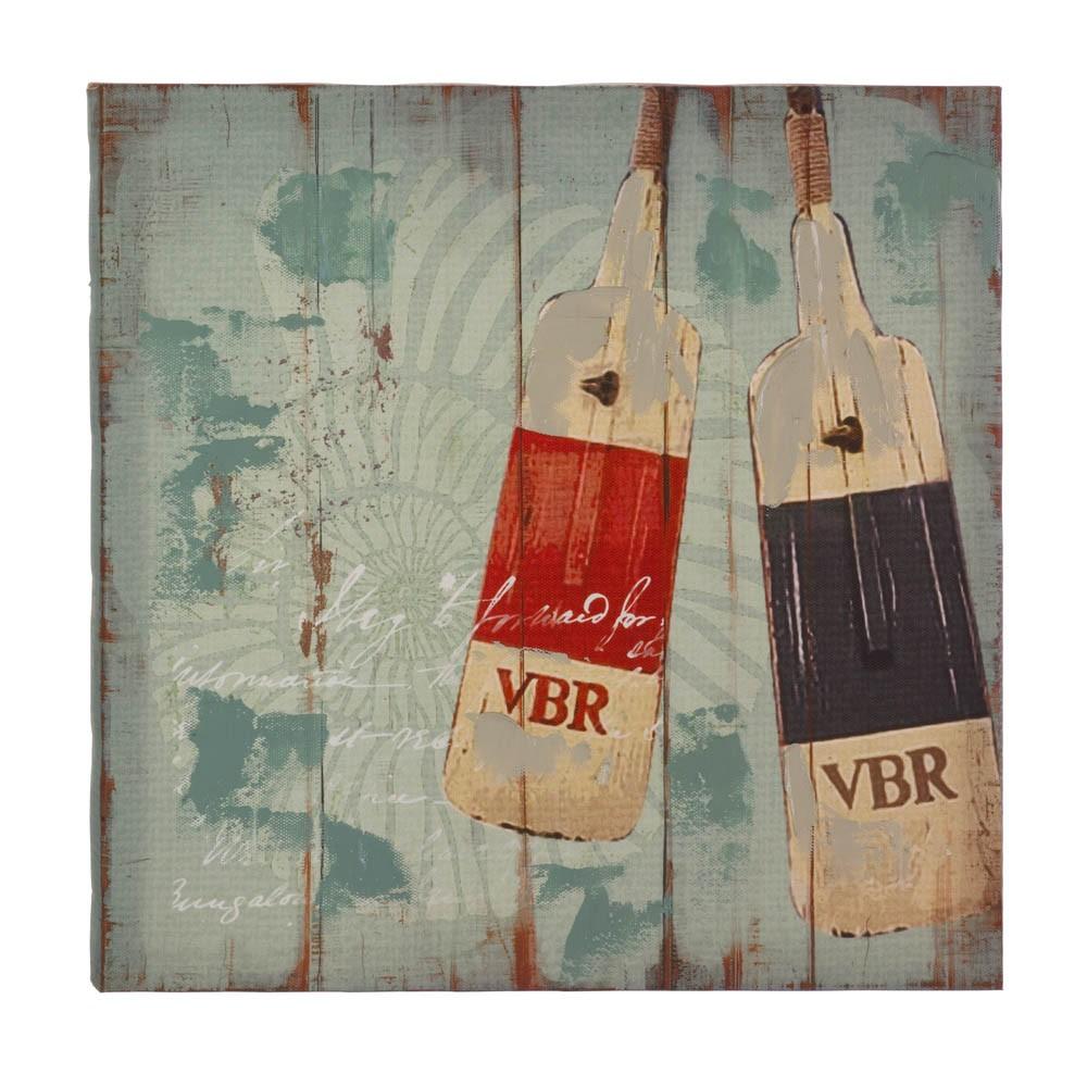 Wholesale seaworthy oars canvas wall art buy wholesale for Buy cheap canvas art