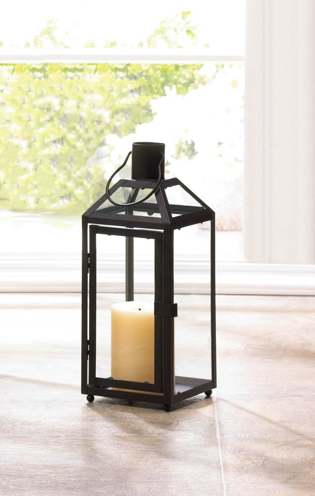 Wholesale Midtown Small Black Lantern - Buy Wholesale Candle Lanterns