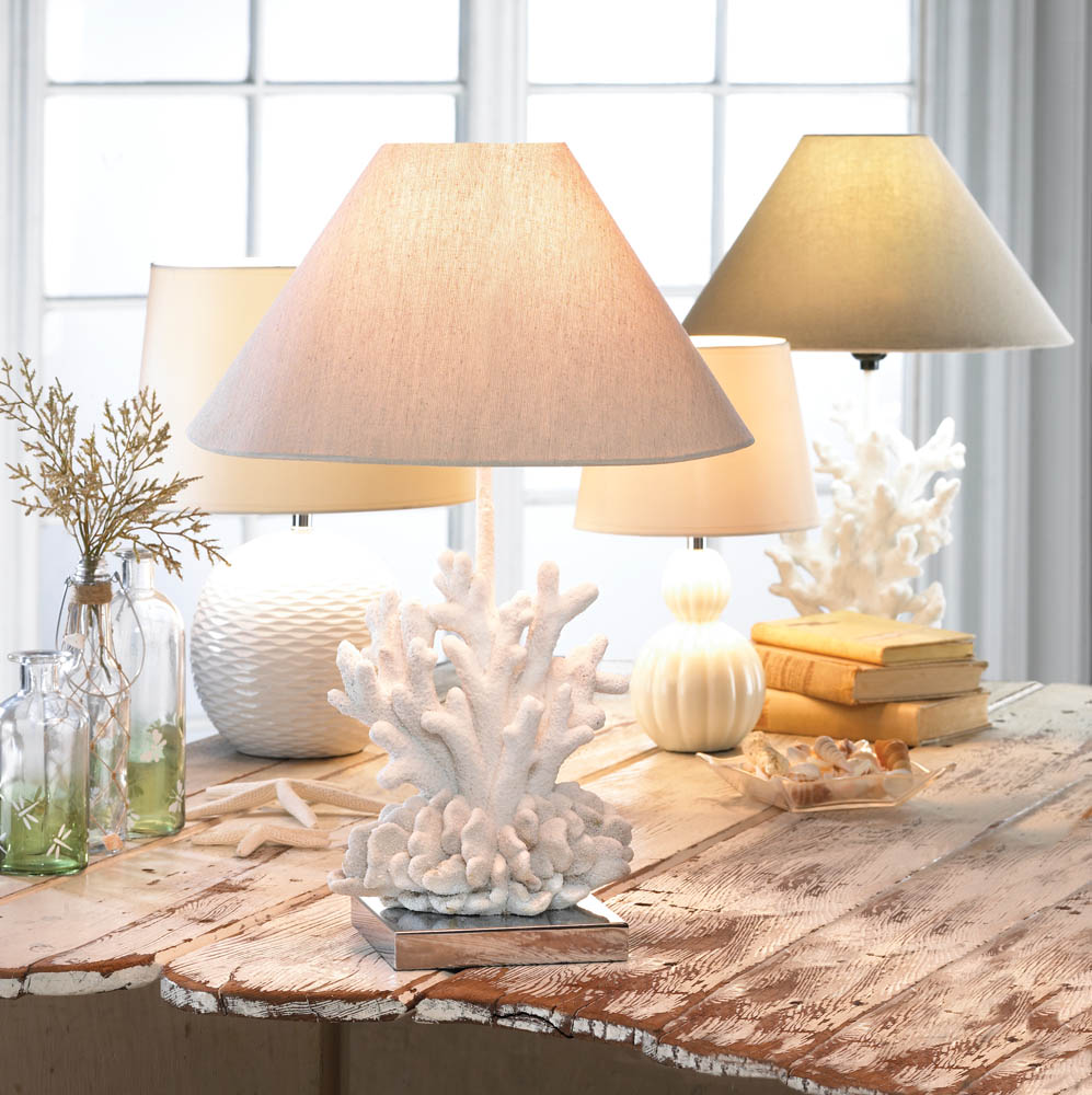 wholesale white coral lamp buy wholesale lamps. Black Bedroom Furniture Sets. Home Design Ideas