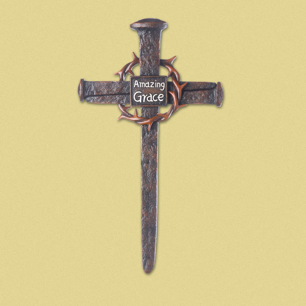 Crown Of Thorns NAIL Cross
