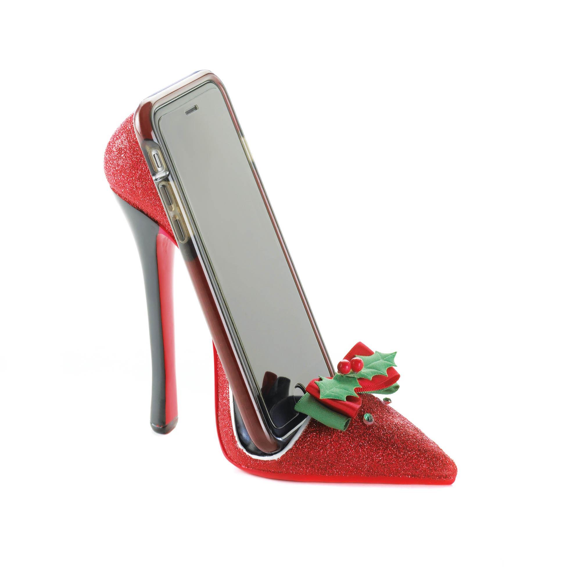 Holiday Heel Phone Holder