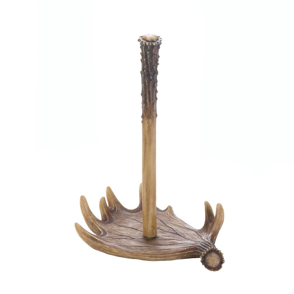 wholesale moose antler paper towel holder buy wholesale kitchen decor. Black Bedroom Furniture Sets. Home Design Ideas