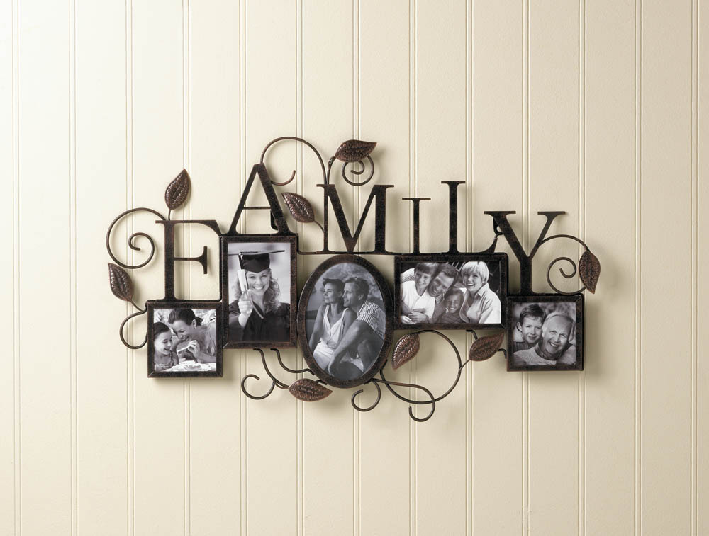 Wholesale Family 5-Photo Wall Frame - Buy Wholesale Picture Frames