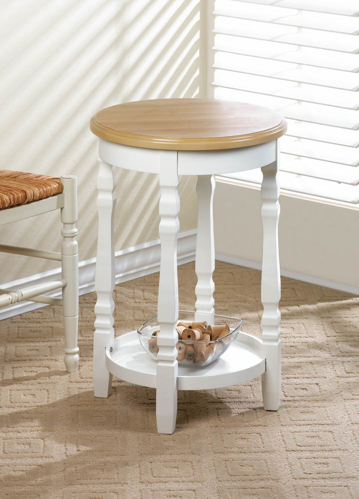 Wholesale Wood Top Round Accent Table For Sale At Bulk Cheap Prices!