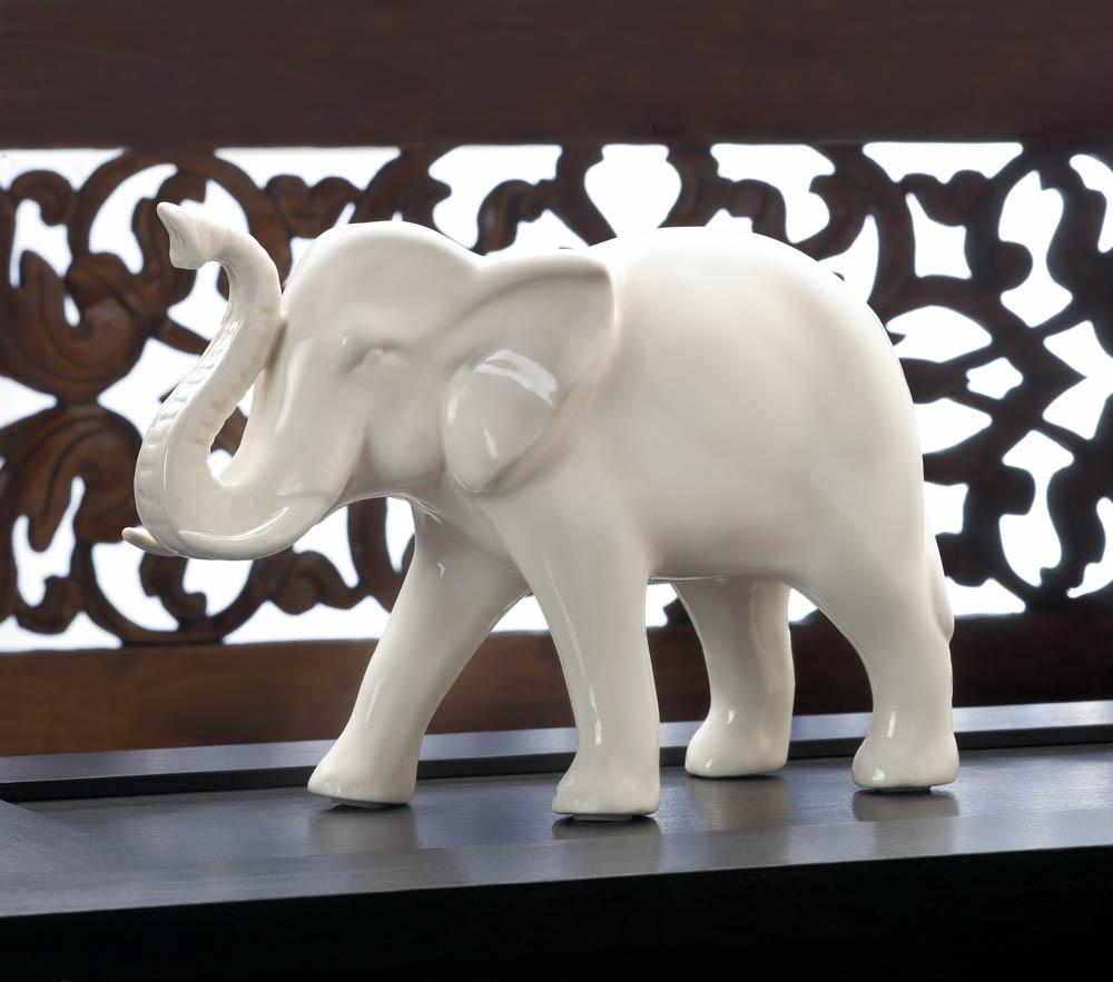 Wholesale Classic White Decorative Elephant