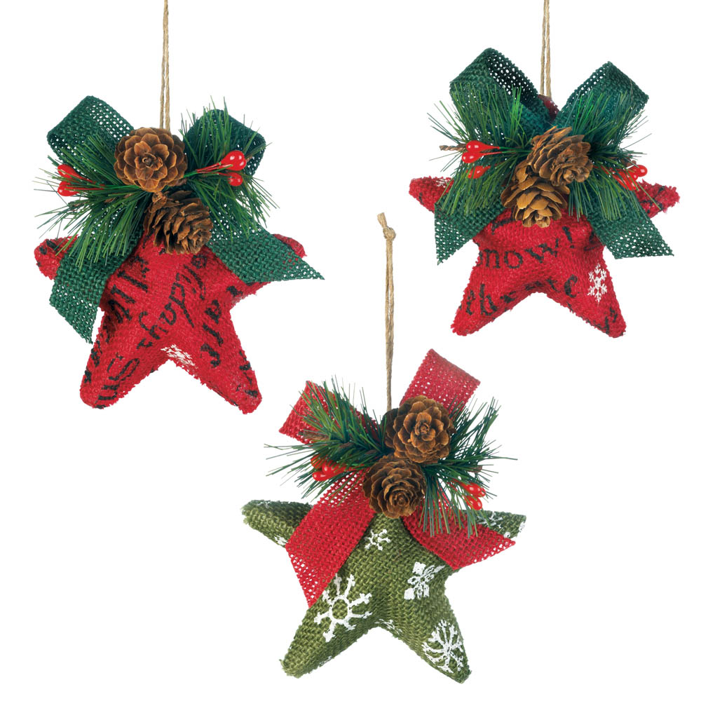Wholesale Christmas Stars Ornament Set - Buy Wholesale Christmas ...