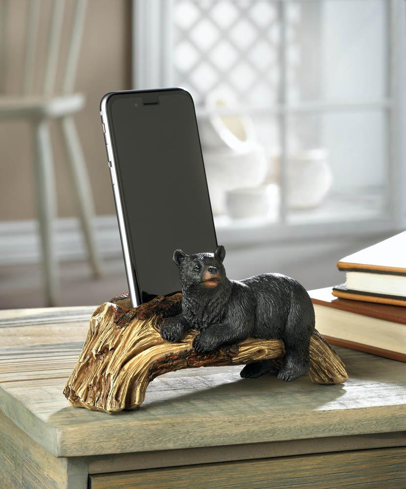 Black Bear Phone Holder