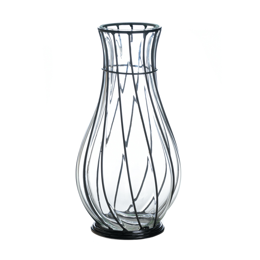 Wholesale short glass and metal vase buy wholesale vases wholesale short glass and metal vase for sale in bulk at cheap prices izmirmasajfo
