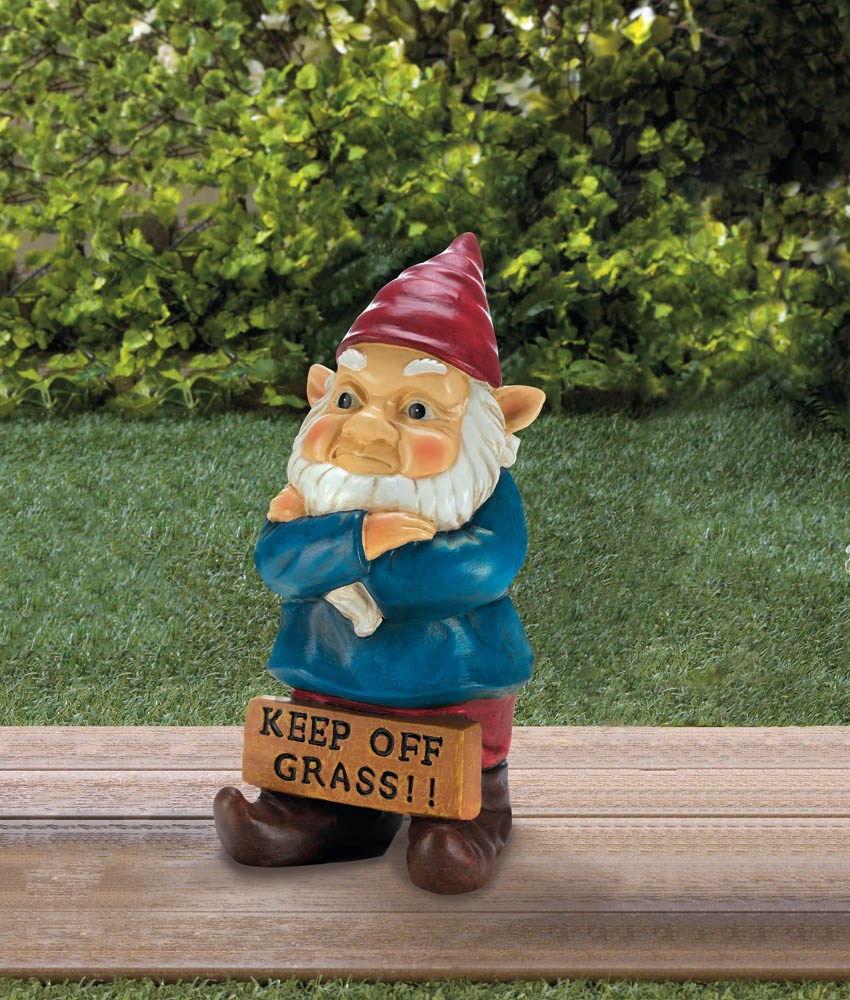 Wholesale Keep Off Grass Grumpy Gnome Buy Wholesale Gnomes