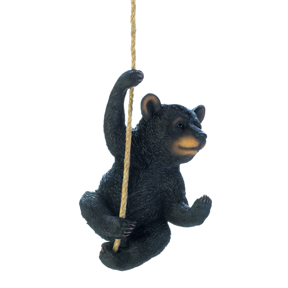 Wholesale Hanging Black Bear Decor