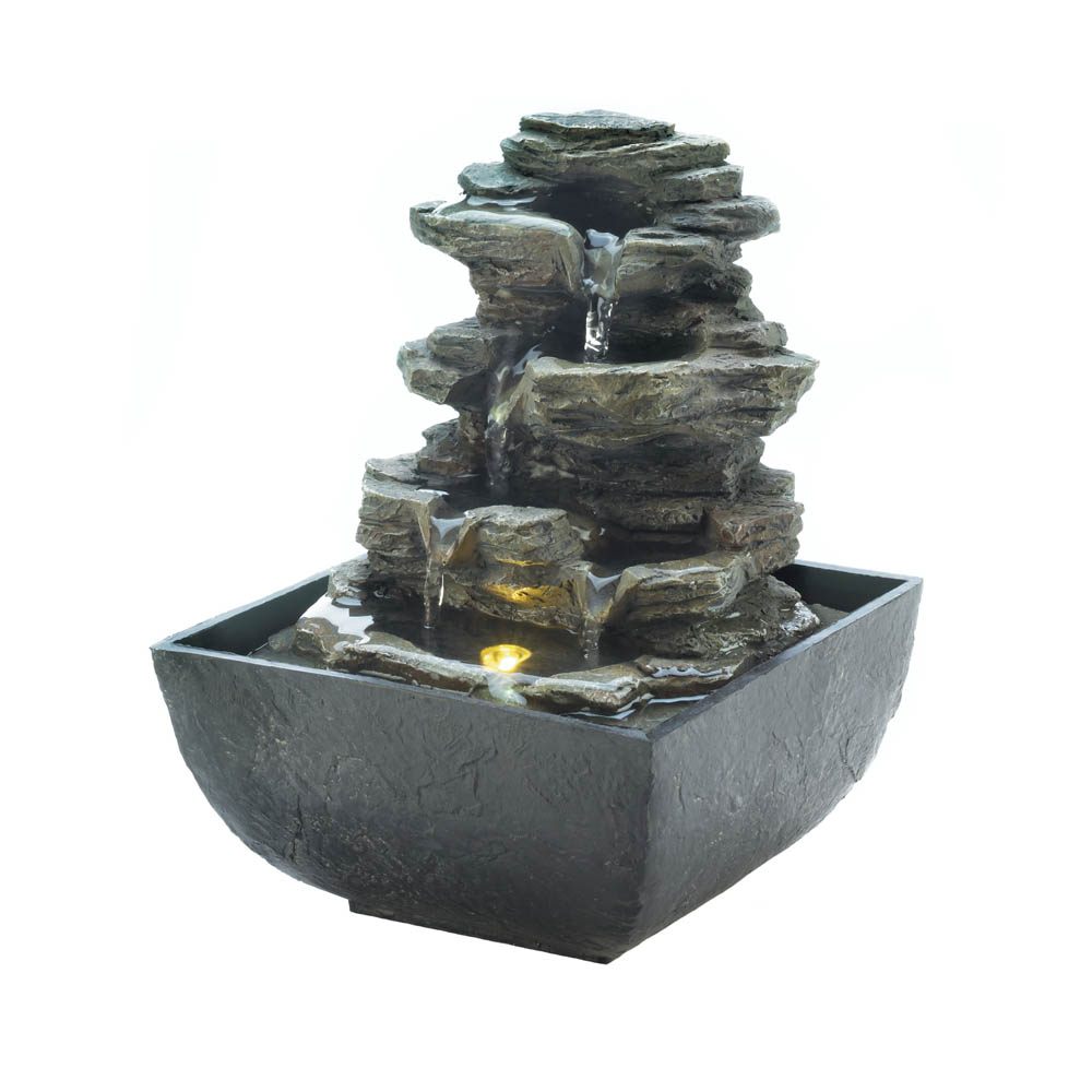 Superieur Wholesale Tiered Rock Formation Tabletop Fountain For Sale In Bulk At Cheap  Prices.