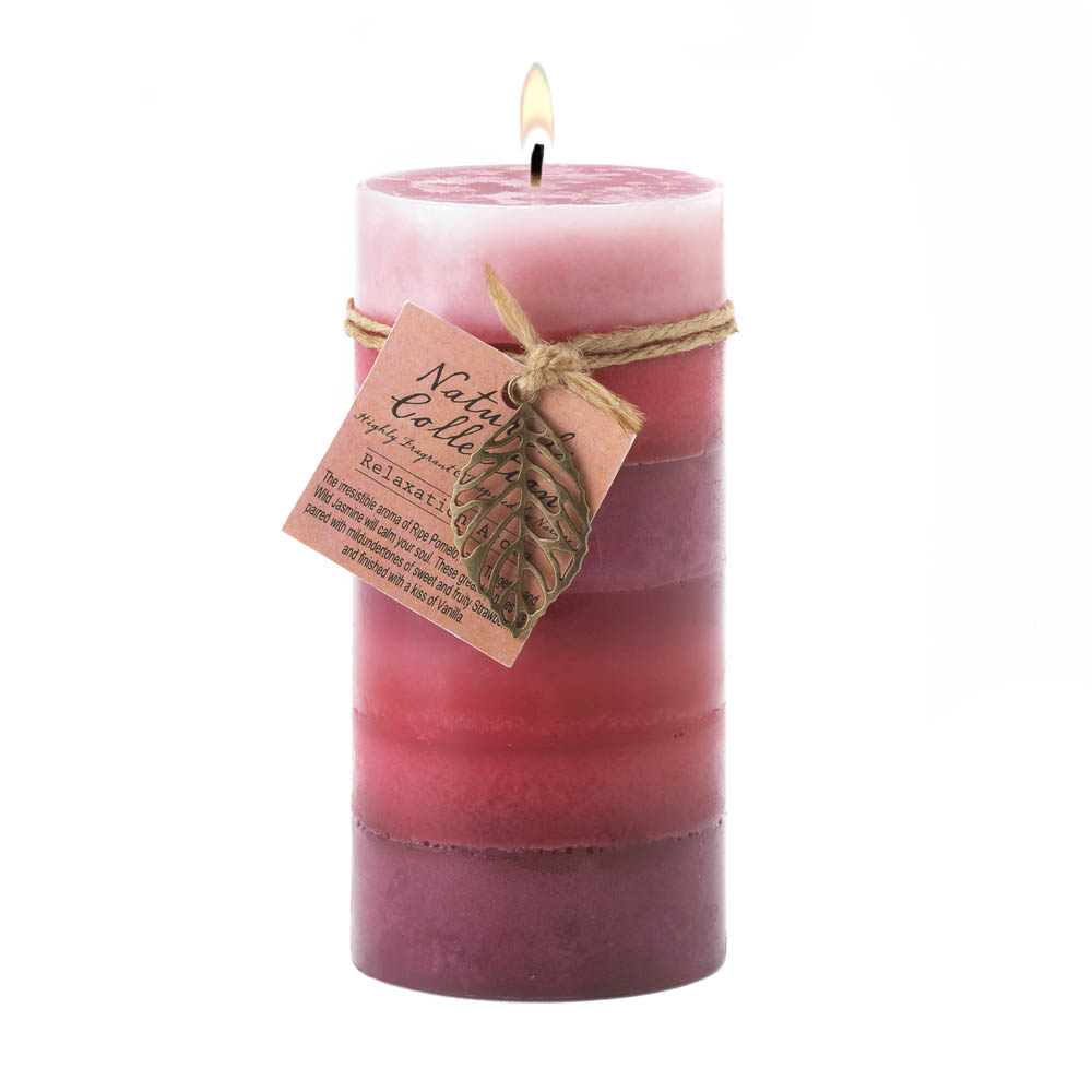 Wholesale Relaxation Aroma Pillar Candle 3X6 for sale at bulk cheap prices!