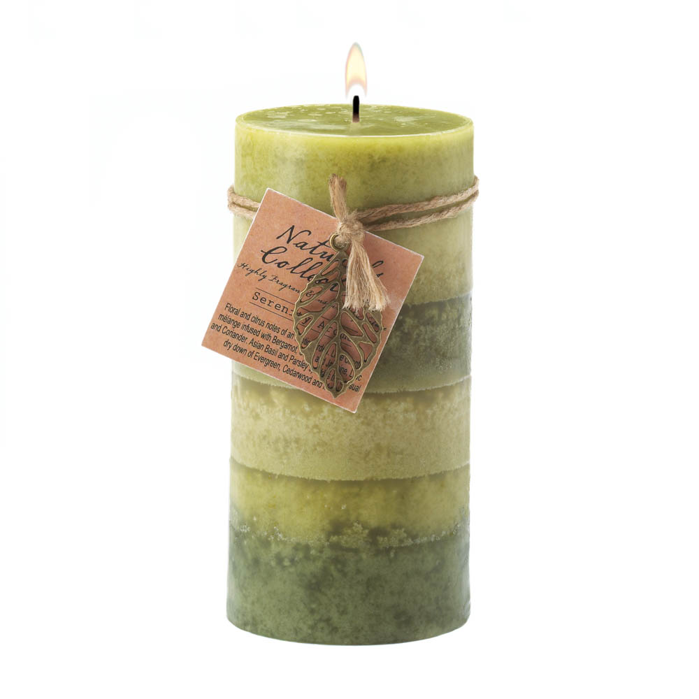 Wholesale Serenity Aroma Pillar Candle 3X6 for sale at bulk cheap prices!