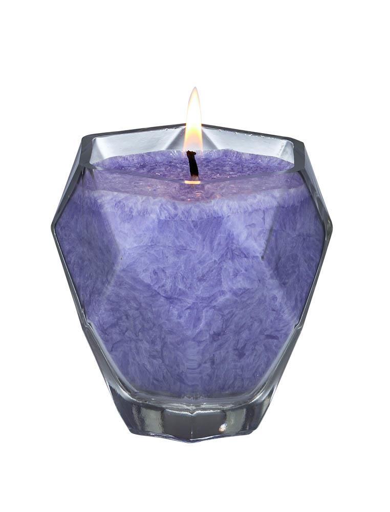 AMETHYST Jewel Glass Candle