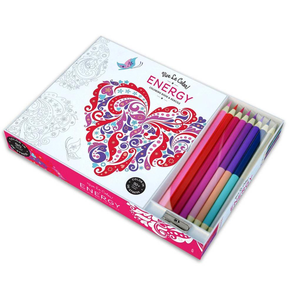 Wholesale Energy Adult Coloring Book With Pencils - Buy Wholesale ...