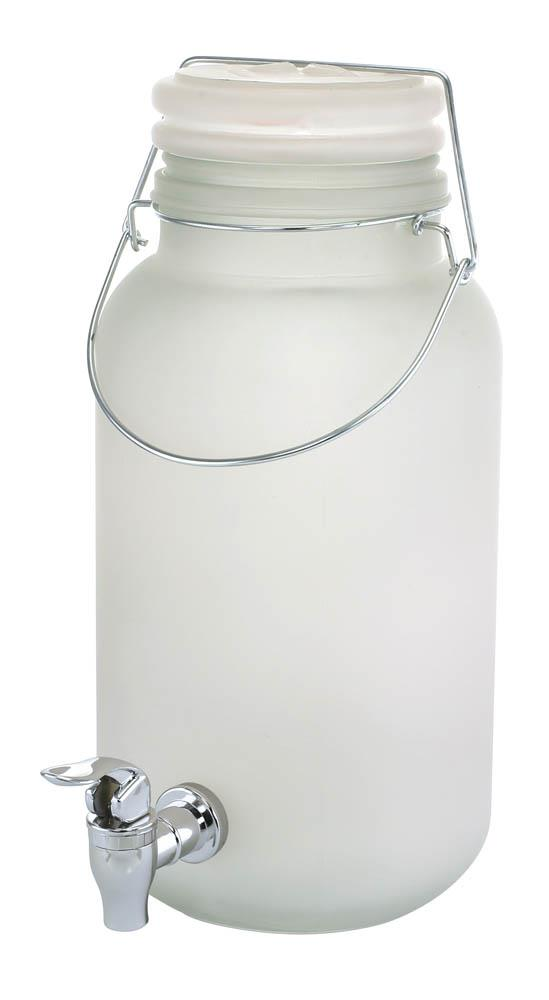 Wholesale Frosted Glass Beverage Dispenser