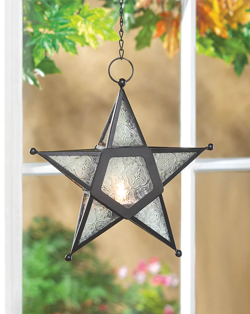 Wholesale Clear Glass Star Lantern Buy Wholesale Candle