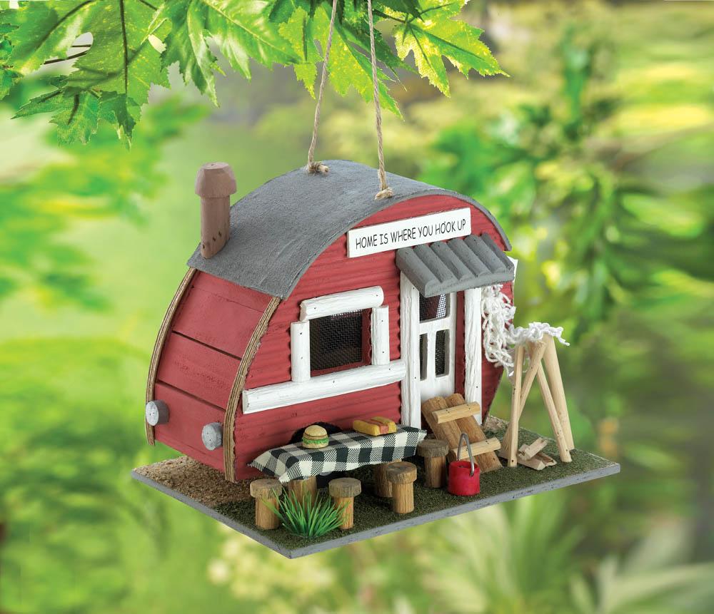 Wholesale Vintage Trailer Birdhouse for sale at  bulk cheap prices!