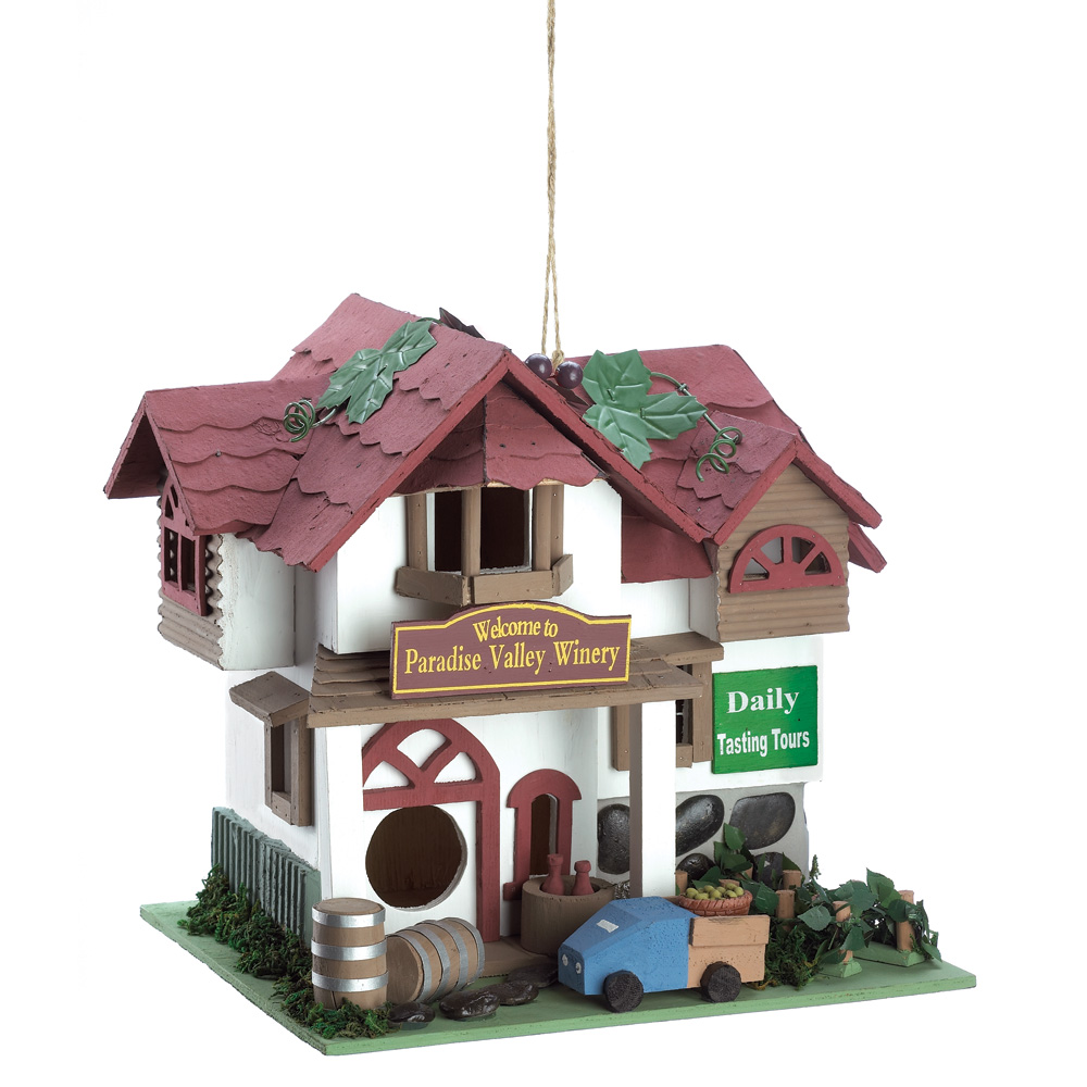Wholesale Paradise Winery Birdhouse for sale at bulk cheap prices!