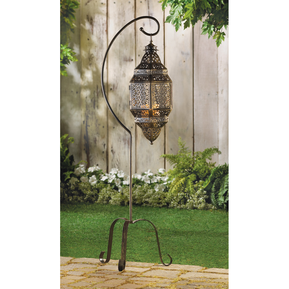 Wholesale Moroccan Candle Lantern Stand